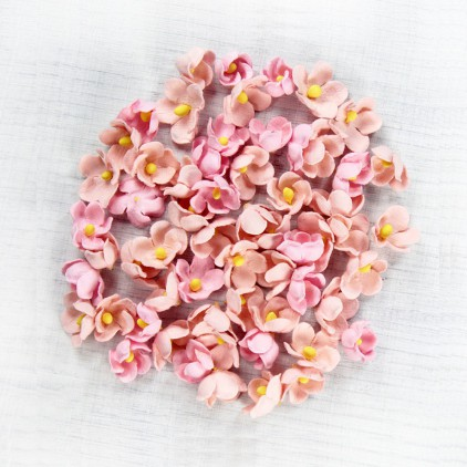 CR69458 - kwiatki papierowe - Little Birdie - Paula Pearl Pink