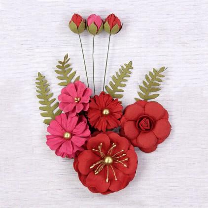 CR62989 - kwiatki papierowe - Little Birdie - Lucinda Passion