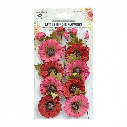 CR70030 scrapbooking flowers - Little Birdie - Jessica Candy