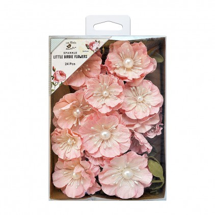 CR69987 scrapbooking flowers - Little Birdie - Margery Carnation