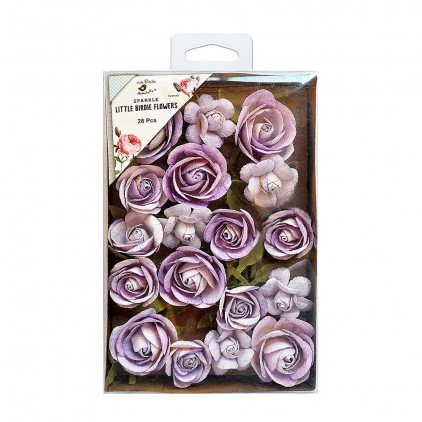 CR72068 scrapbooking flowers - Little Birdie - Fiona Orchid