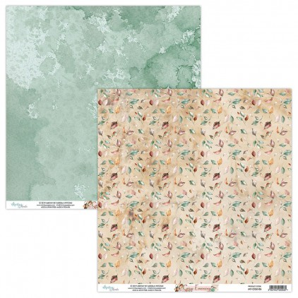 MT-COZ-05 Scrapbooking paper 30 x 30 cm - Cozy Evening - Mintay Papers