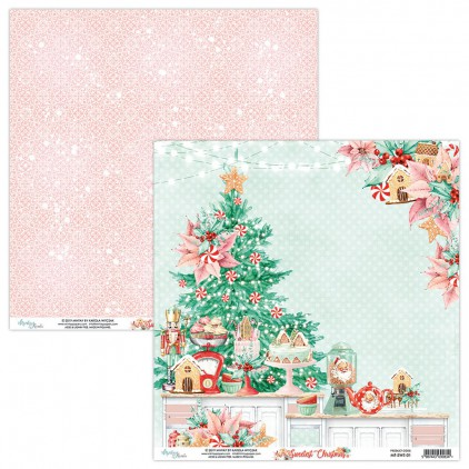 MT-SWE-01 Scrapbooking paper 30 x 30 cm -The Sweetest Christmas - Mintay Papers