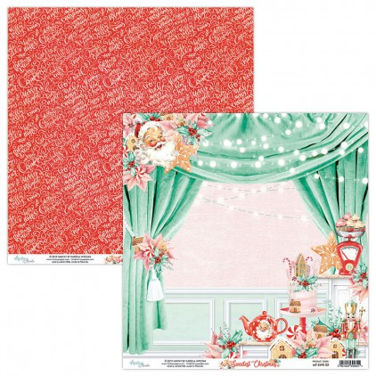 MT-SWE-02 Papier scrapowy 30 x 30 cm - The Sweetest Christmas - Mintay Papers