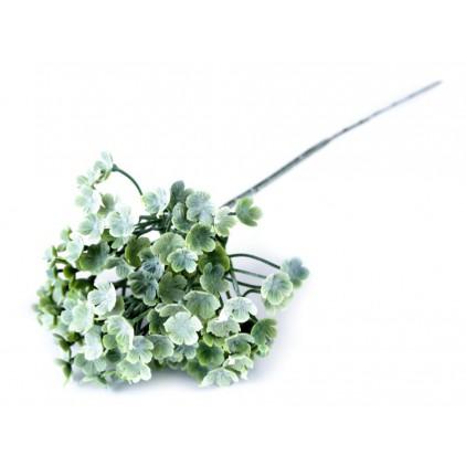 Mini hortensje , sztuczne, zielone