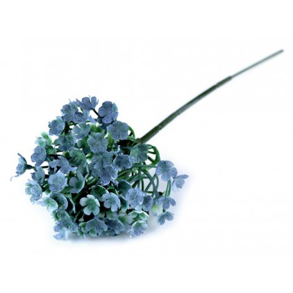 Mini blue hydrangea, artificial