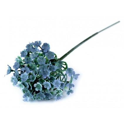 Mini hortensje , sztuczne, niebieskie