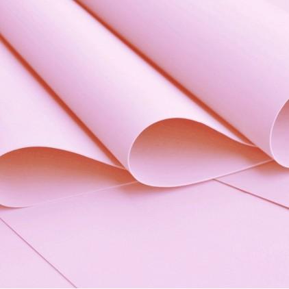 Silk foam, foamiran, artistic foam -silk foam - pink