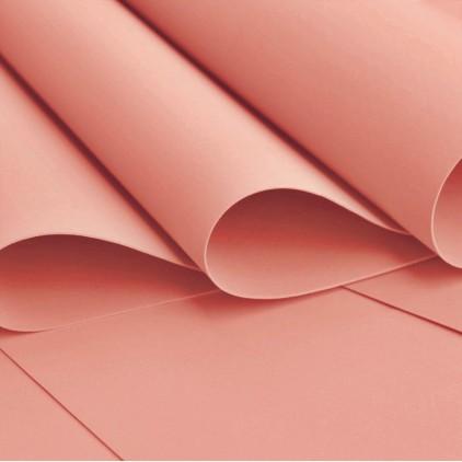 Silk foam, foamiran, artistic foam -silk foam - brick red