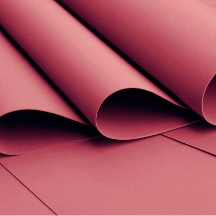 Silk foam, foamiran, artistic foam -silk foam - burgundy
