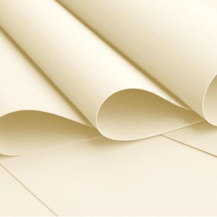 Silk foam, foamiran, artistic foam -silk foam - ecru