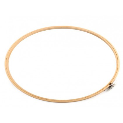 Łapacz snów tamborek drewniany Ø 33,0 cm
