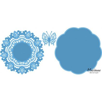 Wykrojnik Anja's butterfly- Marianne Design Creatable - LR0454
