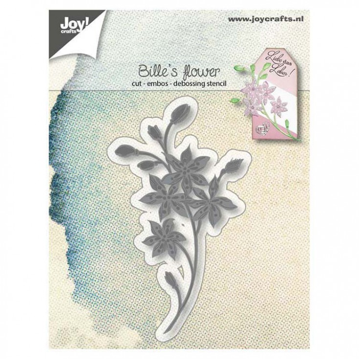 6002/1249 - Wykrojnik Joy crafts -Bille's flower