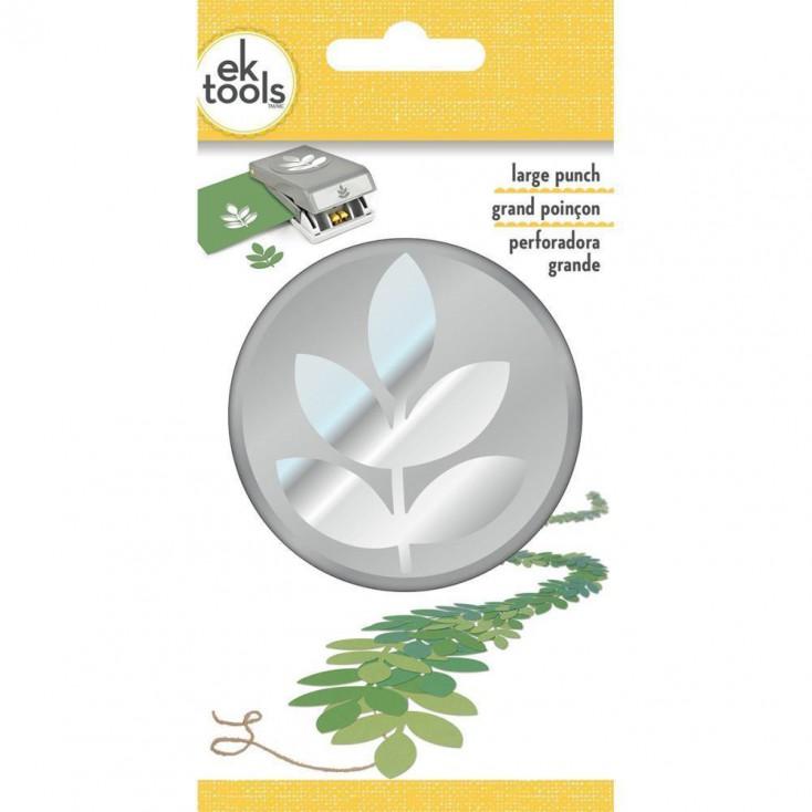 Eksuccess - 54-30326 - punch Five leaf branch