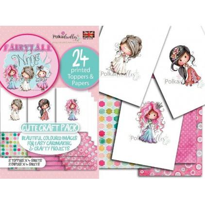 PD7926 -Winnie Princess Fairytale Mini craft Pack  - Polka doodles Ltd.