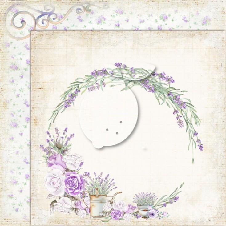 LP-MSP01 - Dwustronny papier scrapowy - Lemoncraft - My sweet Provence 01