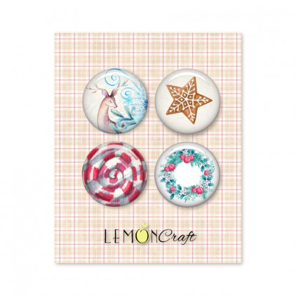 LD-JTW01 - Buttons / badge - Lemoncraft - Joy to the world