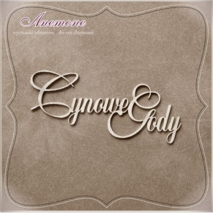 Chipboard - Anemone - Cynowe gody