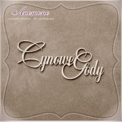 Wycinanka tekturowa - Anemone - Cynowe gody - 10 rocznica ślubu
