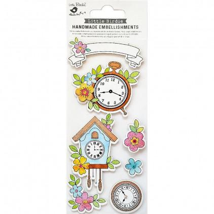 CR79814 Floral - Zestaw naklejek - Little Birdie