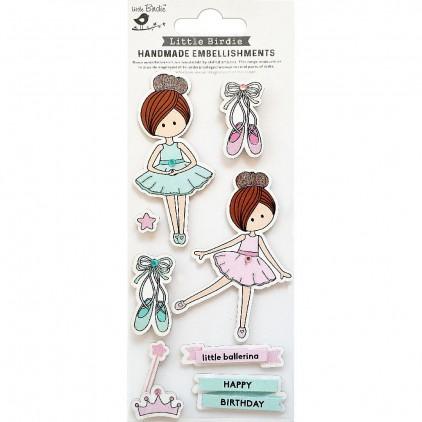 CR79811 Little Ballerina - Zestaw naklejek - Little Birdie