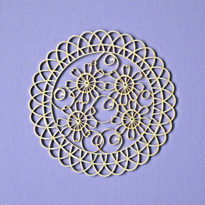 042 - laser cut, chipboard lace 5 - Crafty Moly