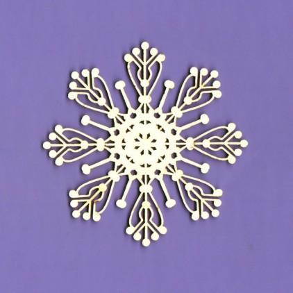 551- tekturka Zimowa kolekcja - Śnieżynka 2 - Crafty Moly