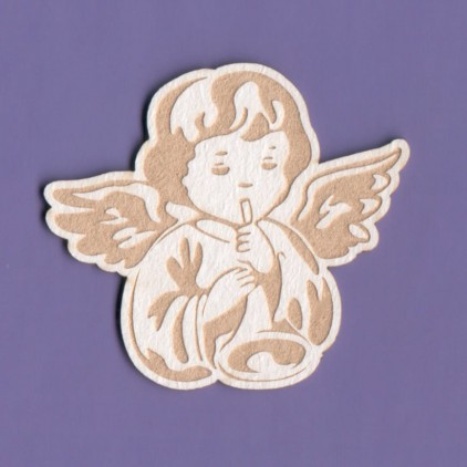 1205 - laser cut, chipboard angel 2 Crafty Moly