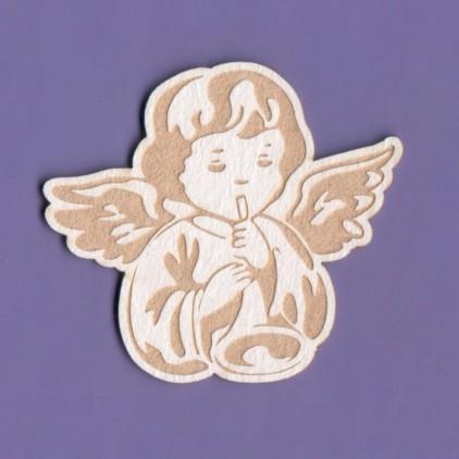 1205 - laser cut, chipboard angel 2 Crafty Moly