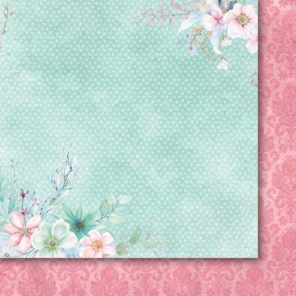 Scrapbooking paper 30 x 30 cm - Galeria Papieru - Heart's tingle 01