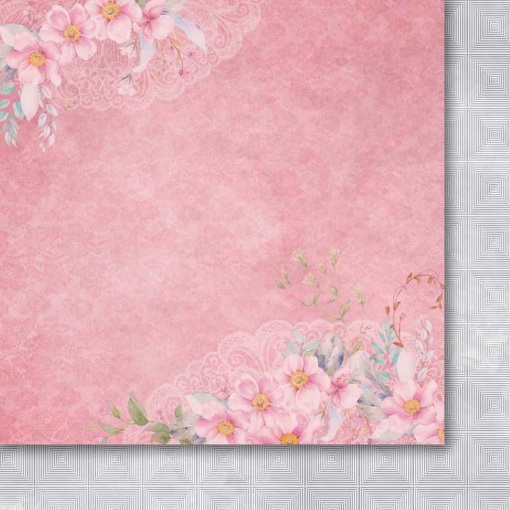 Papier do tworzenia kartek i scrapbookingu 30 x30 cm- Galeria Papieru - Odruch serca 03