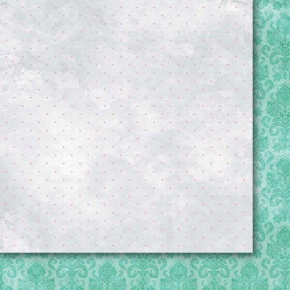 GP/OS06 Scrapbooking paper 30 x 30 cm - Galeria Papieru - Heart's tingle 06