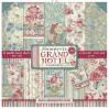 SBBL57 Zestaw papierów do tworzenia kartek i scrapbookingu - Stamperia - Grand Hotel