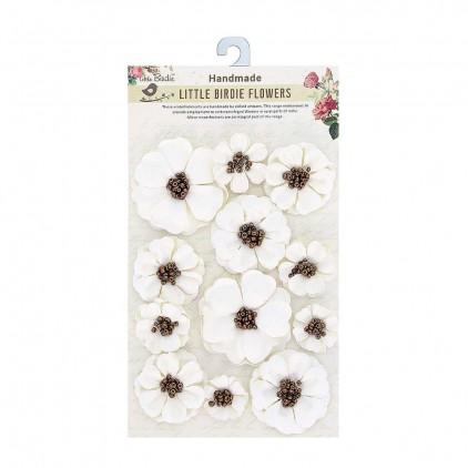 CR71042 - kwiatki papierowe - Little Birdie - Meadow Cream