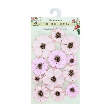 CR71043 - kwiatki papierowe - Little Birdie - Meadow Pink