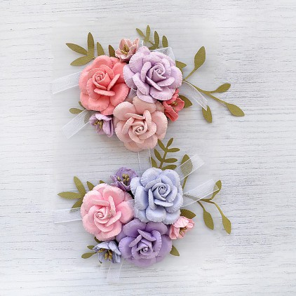 CR79433 - kwiatki papierowe - Little Birdie - Arion Fairy Sparkle