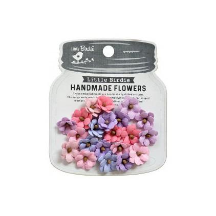 CR79451 scrapbooking flowers - Little Birdie -CR55763 - kwiatki papierowe - Little Birdie - Calypso Fairy Sparkle