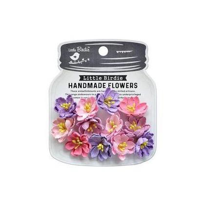 CR79457- kwiatki papierowe - Little Birdie - Elvina Fairy Sparkle