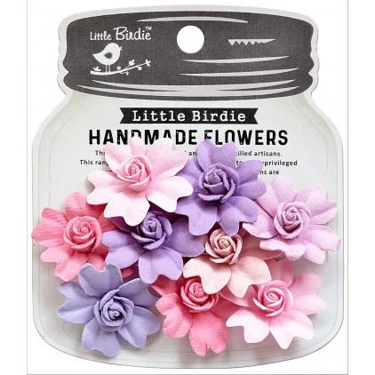 CR79445 scrapbooking flowers - Little Birdie -CR55763 - kwiatki papierowe - Little Birdie - Corolina Fairy Sparkle