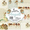 Decorer - Zestaw papierów do scrapbookingu 20x20cm - Angels