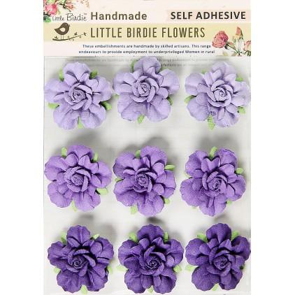 CR66986 kwiatki papierowe - Little Birdie - Vincy Periwinkle