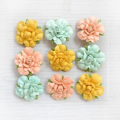 CR76701 kwiatki papierowe - Little Birdie - Vincy Pastel Palette