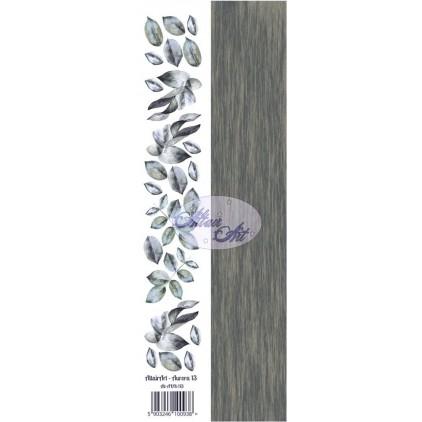 Papier skrap - pasek z elementami do wycięcia - Aurora 13 - Altair Art Alt-AUR-113
