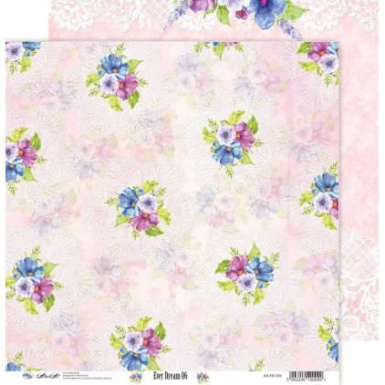 Scrapbooking paper 30x30cm - Ever Dream 06 - Altair Art Alt-ED-106