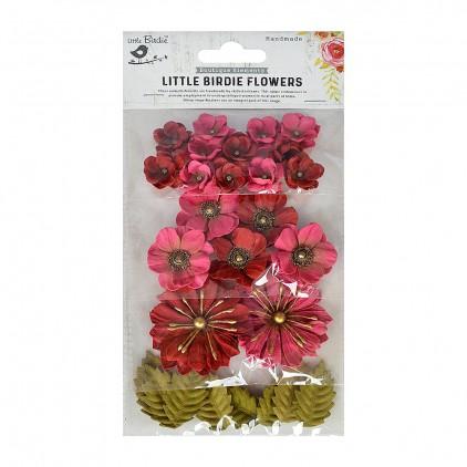 CR70078 kwiatki papierowe - Little Birdie - Renae Candy Mix