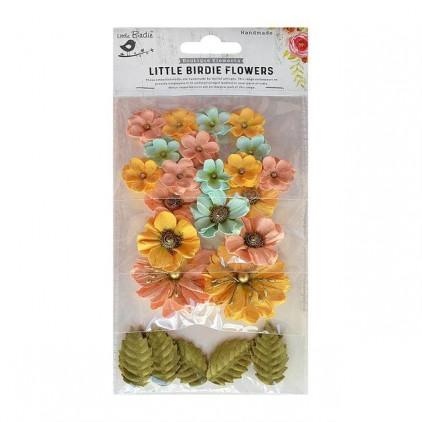 CR70068 kwiatki papierowe - Little Birdie - Renae Pastel Palette