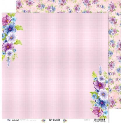 Scrapbooking paper 30x30cm - Ever Dream 04 - Altair Art Alt-ED-104