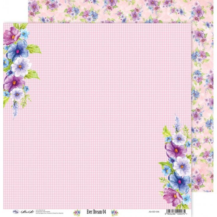 Papier do scrapbookingu 30x30cm - Ever Dream 04 - Altair Art Alt-ED-104