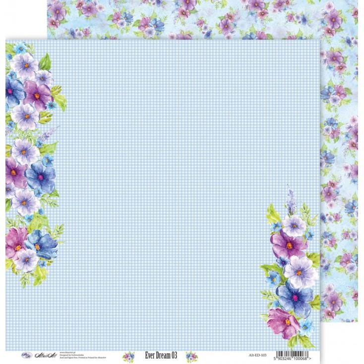 Papier do scrapbookingu 30x30cm - Ever Dream 03 - Altair Art Alt-ED-103